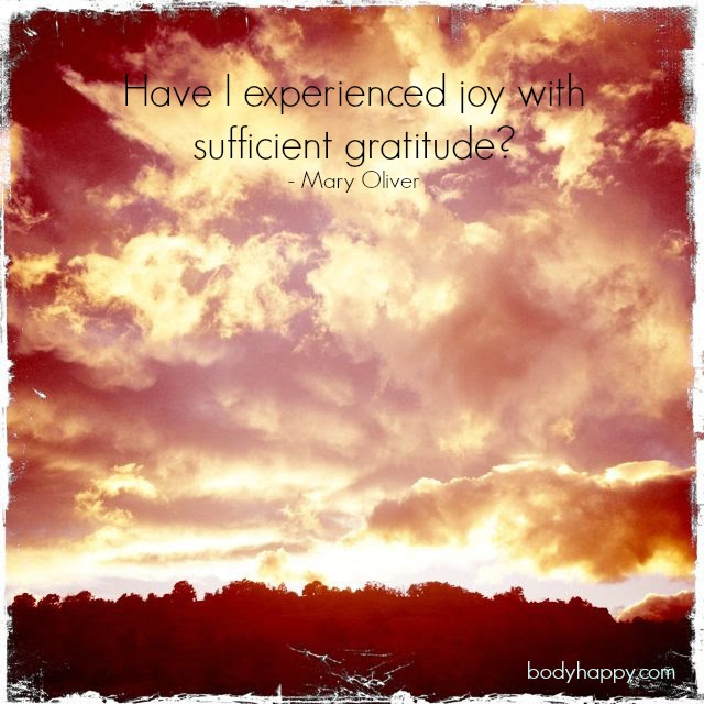 sufficient gratitude