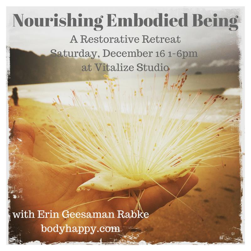 Nourishing Embodied Being