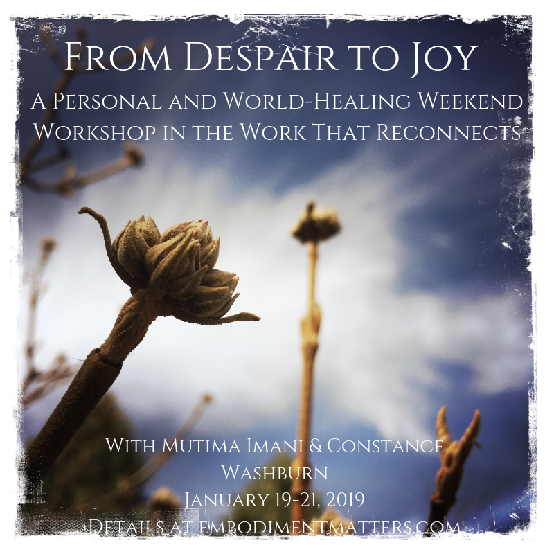 From Despair to Joy
