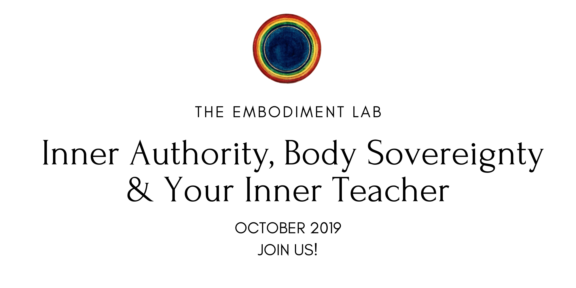 EMBODIMENT MATTERS MONTHLY THEME